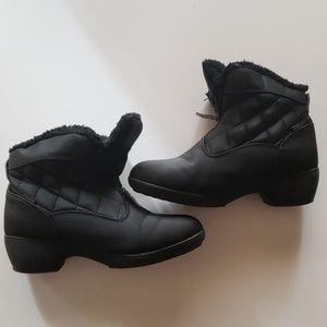 Warm Black winter boots